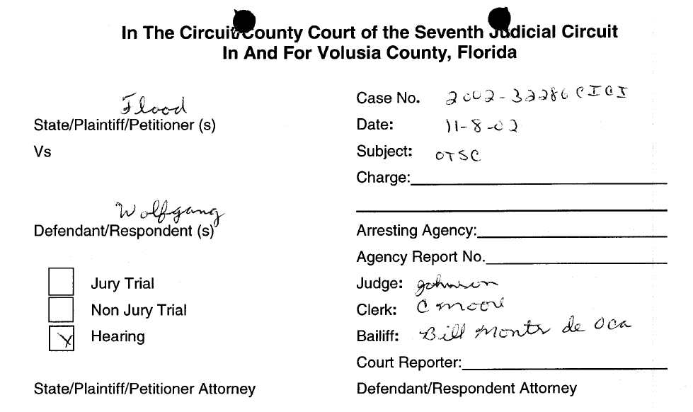 Circuit country court - Axis of Evil